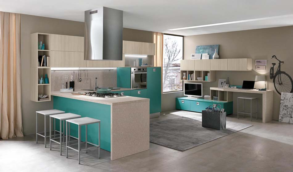 Artec Cucine Moderne Quadra – Toscana Arredamenti – 101