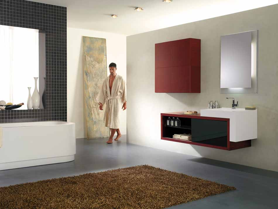 Bmt Arredo Bagno Moderno Pi Quadro – Toscana Arredamenti – 105