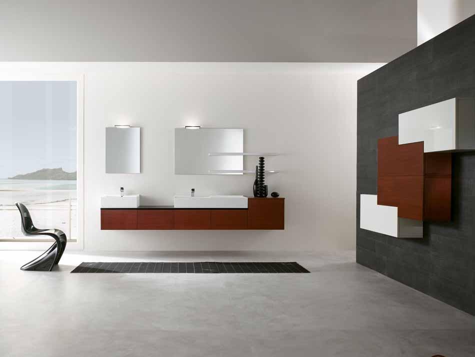 Bmt Arredo Bagno Moderno Pi Quadro – Toscana Arredamenti – 113