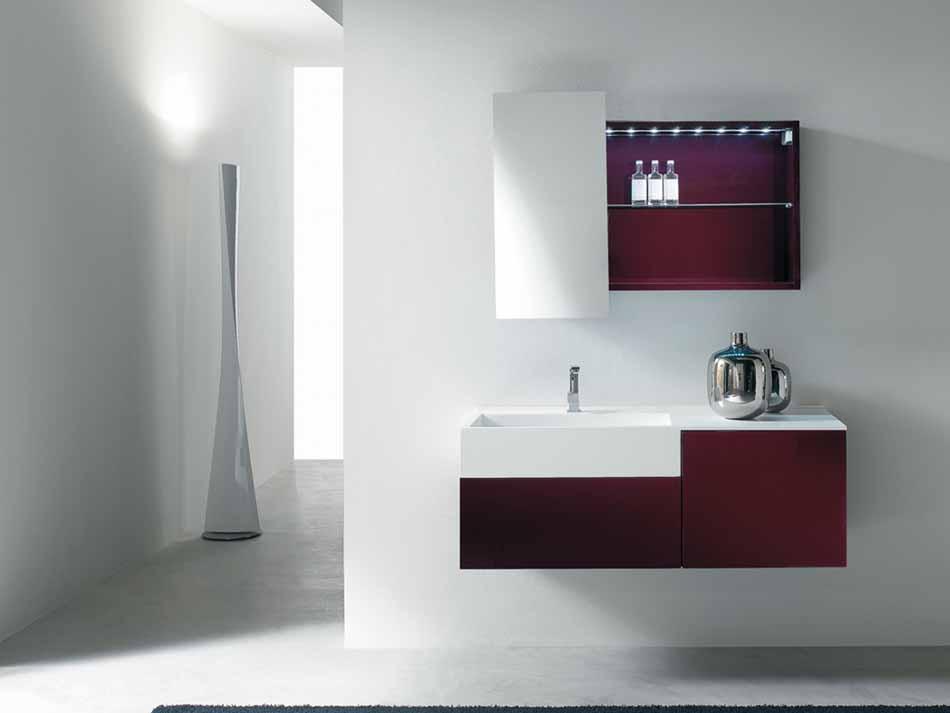 Bmt Arredo Bagno Moderno Pi Quadro – Toscana Arredamenti – 122