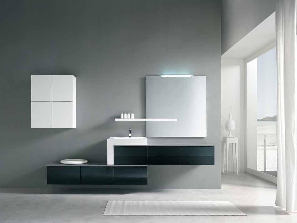 Bmt Arredo Bagno Moderno Pi Quadro – Toscana Arredamenti – 125