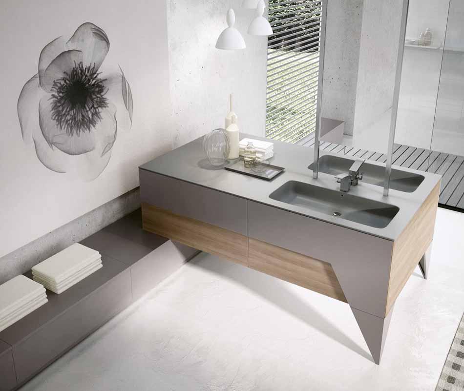 Bmt Arredo Bagno Moderno Pi Quadro – Toscana Arredamenti – 134