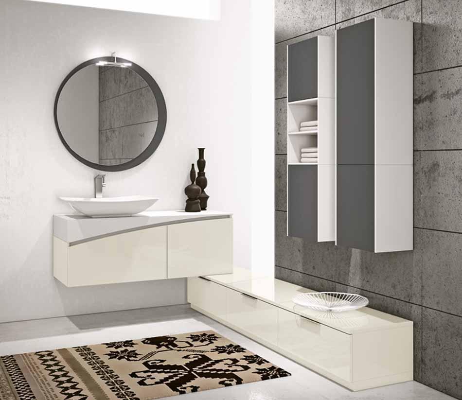 Bmt Arredo Bagno Moderno Pi Quadro – Toscana Arredamenti – 140