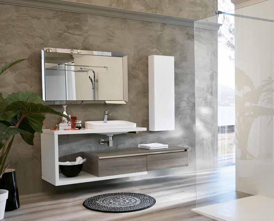 Bmt Arredo Bagno Moderno Swing – Toscana Arredamenti – 125