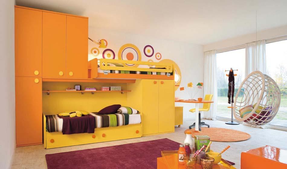 Camerette Moderne Colombini Soppalco – Toscana Arredamenti – 110