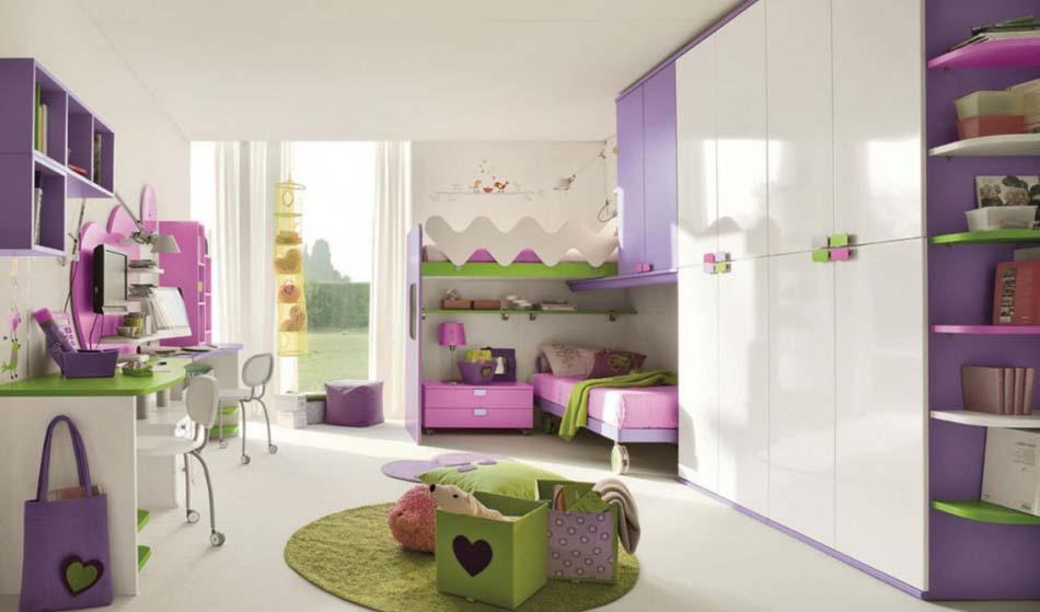 Camerette Moderne Colombini Soppalco – Toscana Arredamenti – 118
