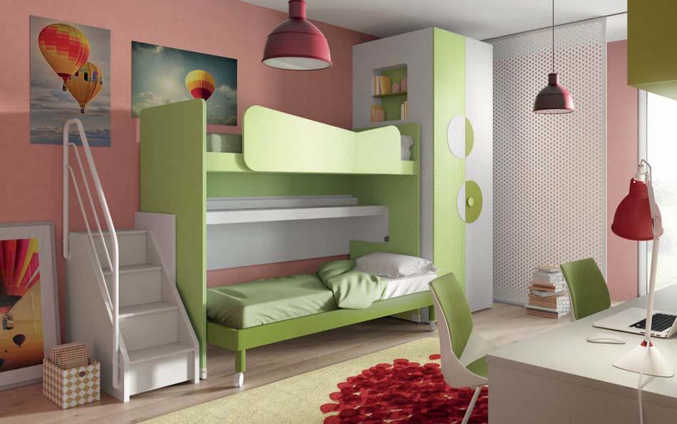 Camerette Moderne Soppalco Mistral – Toscana Arredamenti – 105B