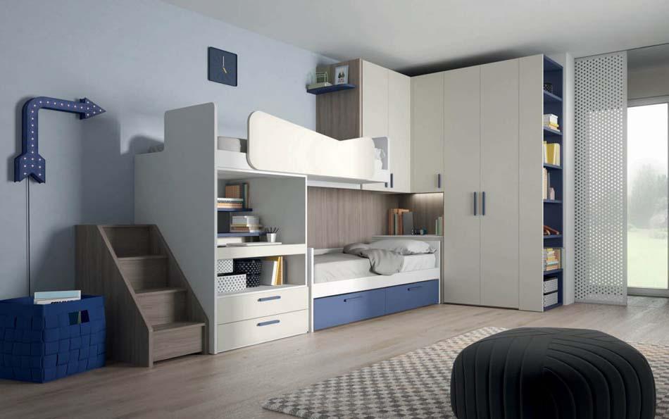 Camerette Moderne Soppalco Mistral – Toscana Arredamenti – 106
