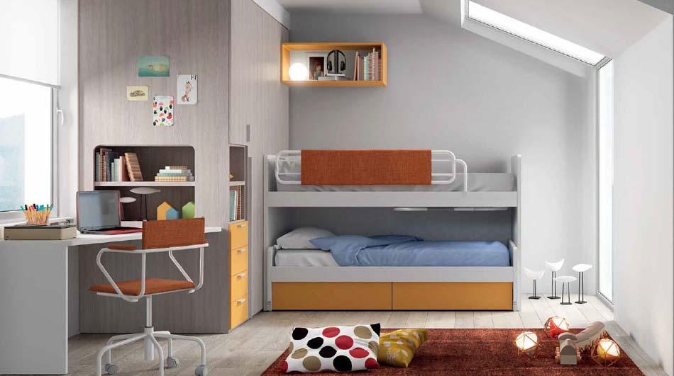 Camerette Moderne Soppalco Mistral – Toscana Arredamenti – 108