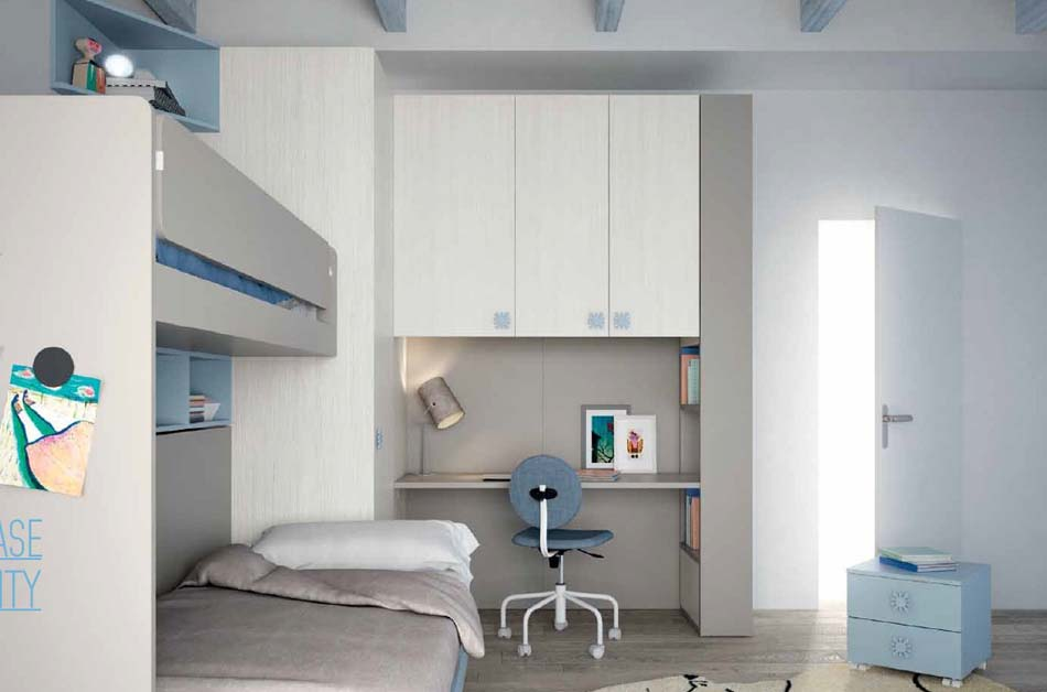 Camerette Moderne Soppalco Mistral – Toscana Arredamenti – 109