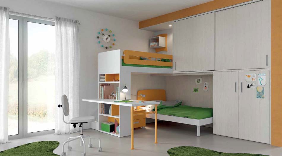 Camerette Moderne Soppalco Mistral – Toscana Arredamenti – 115
