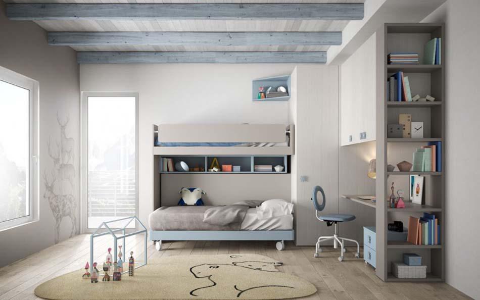 Camerette Moderne Soppalco Mistral – Toscana Arredamenti – 117