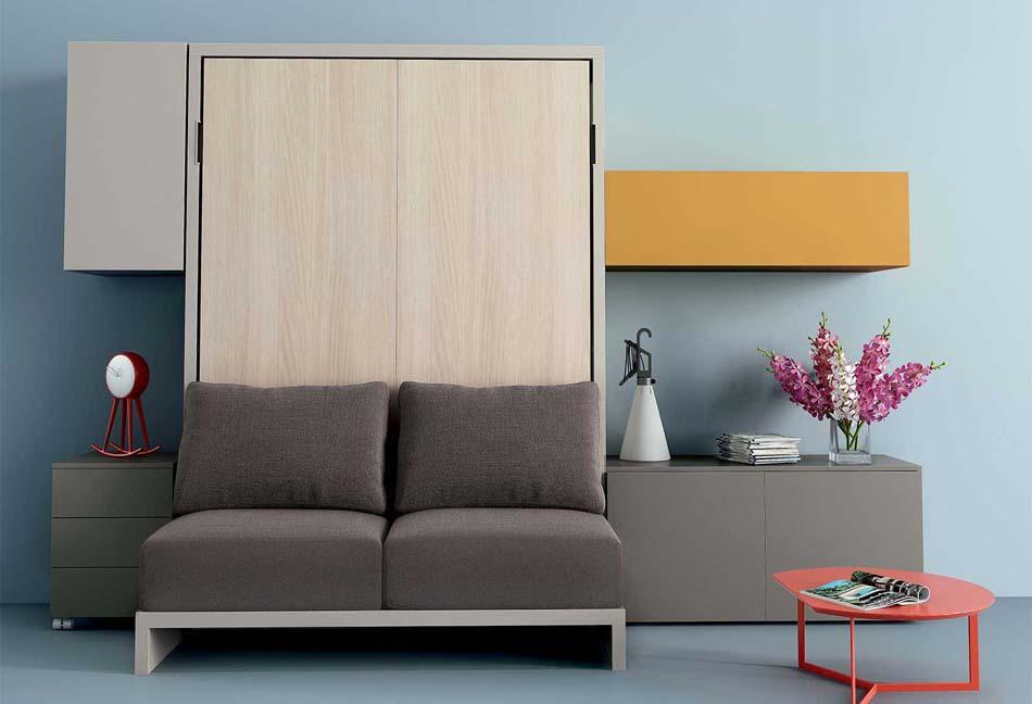 Clever letti salvaspazio Shin Sofa -Toscana Arredamenti