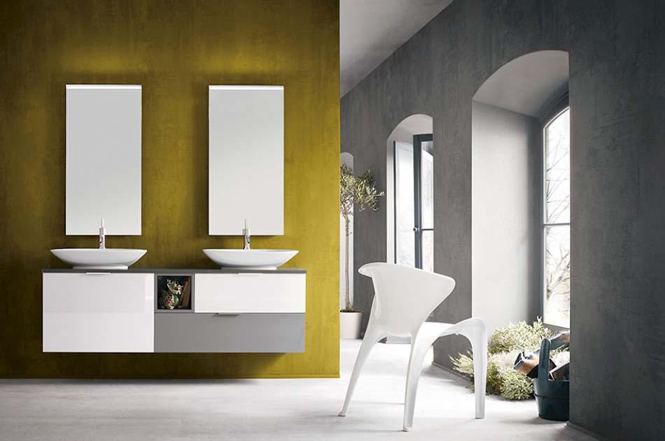 Compab Arredo Bagno B201 Color Doppio Lavello – Toscana Arredamenti – 101