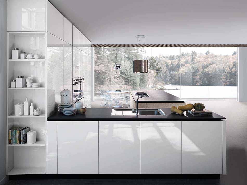 Cucine Miton Moderne Sincro Glossy – Toscana Arredamenti – 104