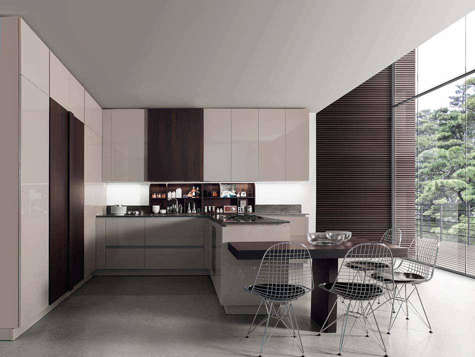 Cucine Miton Moderne Sincro Glossy – Toscana Arredamenti – 106