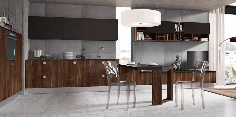 Cucine su misura artigiali 02- Linea Lounge -Toscana Arredamenti.