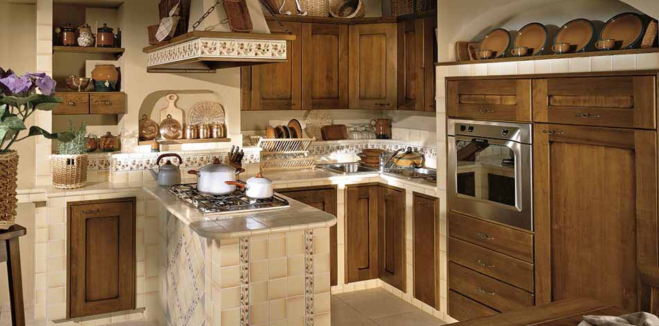 Cucine su misura artigiali 11 – Linea Medicea -Toscana Arredamenti