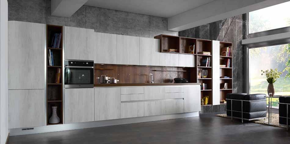 Cucine su misura artigiali 18 – Linea Rockwood -Toscana Arredamenti