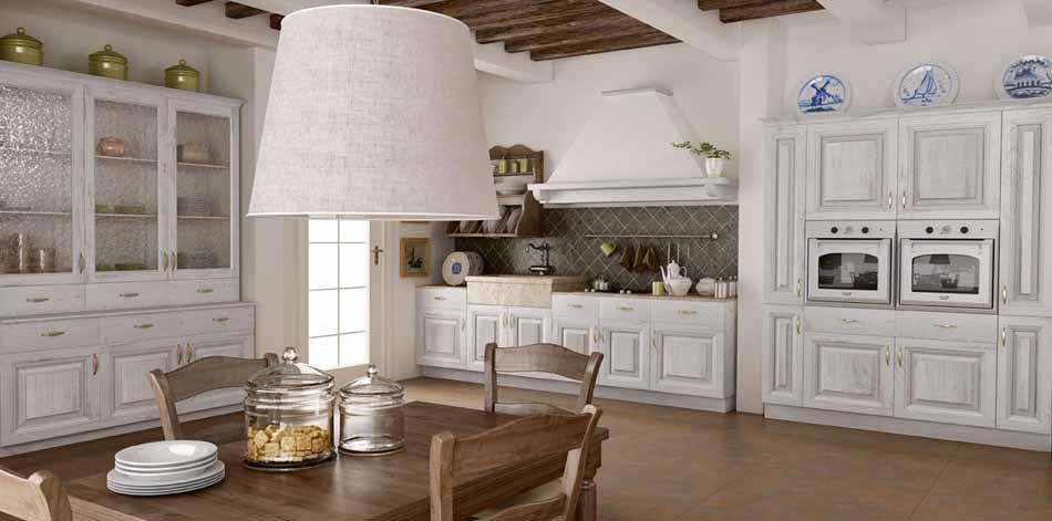 Cucine su misura artigiali 21 – Linea Baita -Toscana Arredamenti