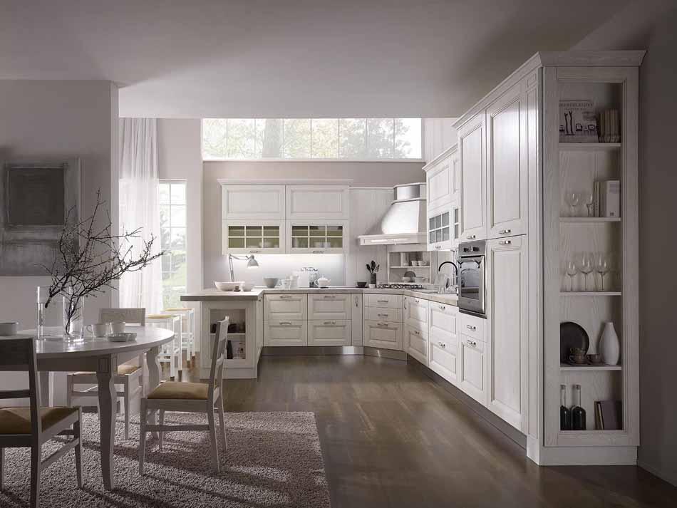 Cucine su misura artigiali 23 – Linea Sofia -Toscana Arredamenti