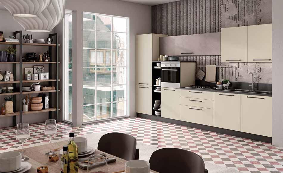 Cucine su misura artigiali 32 – Linea Brooklyn -Toscana Arredamenti