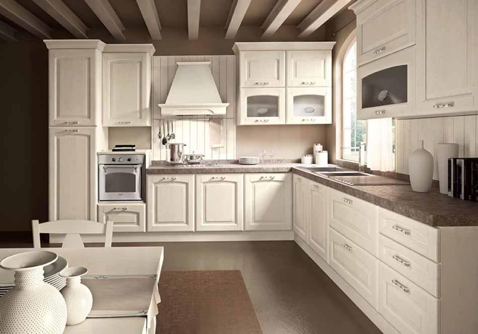Cucine su misura artigiali 38 – Linea Lucrezia -Toscana Arredamenti