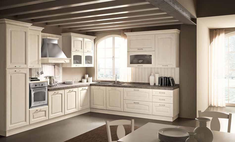 Cucine su misura artigiali 39 – Linea Lucrezia -Toscana Arredamenti