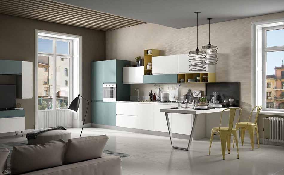 Cucine su misura artigiali 40 – Linea Arianna – Firenze Arredament