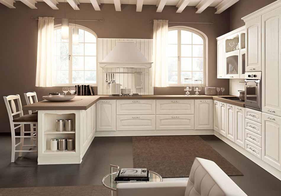 Cucine su misura artigiali 48 – Linea Lucrezia -Toscana Arredamenti