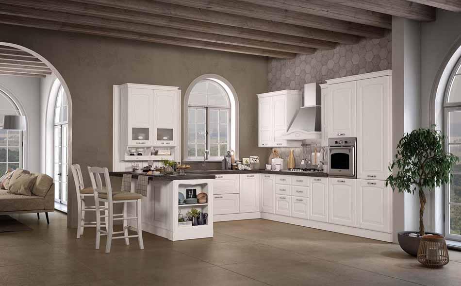 Cucine su misura artigiali 49 – Linea Lucrezia -Toscana Arredamenti