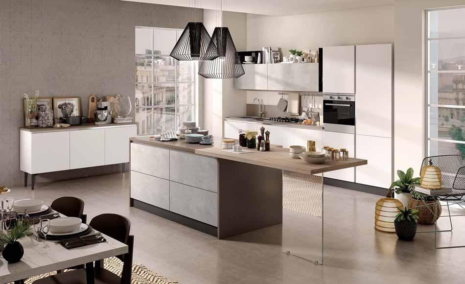 Cucine su misura artigiali 52 – Linea Brooklyn -Toscana Arredamenti