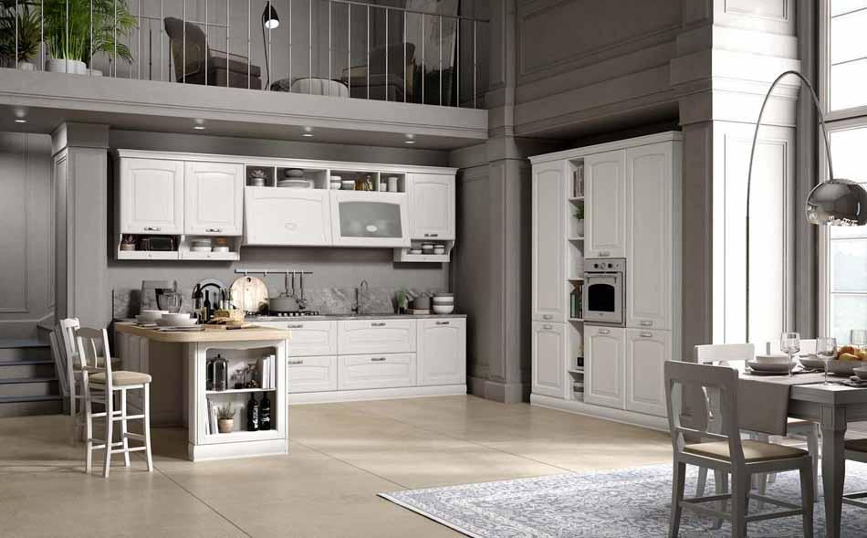 Cucine su misura artigiali 59 – Linea Lucrezia -Toscana Arredamenti