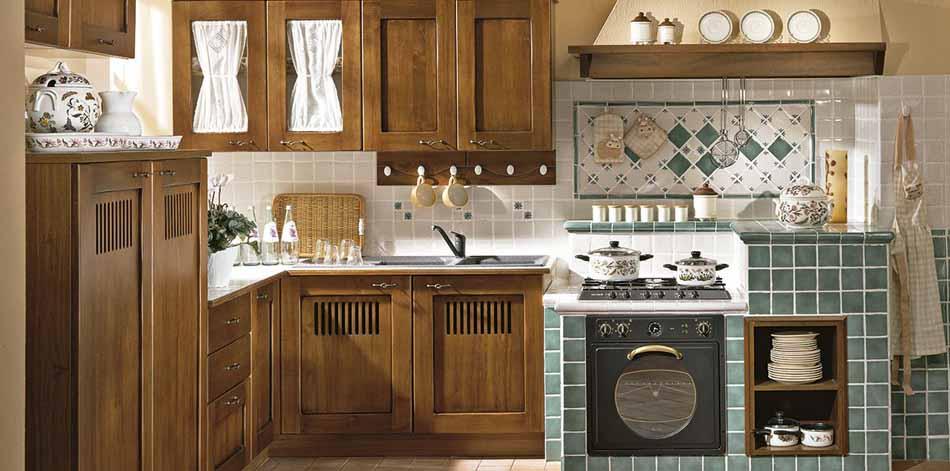 Cucine su misura artigiali 61 – Linea Medicea -Toscana Arredamenti
