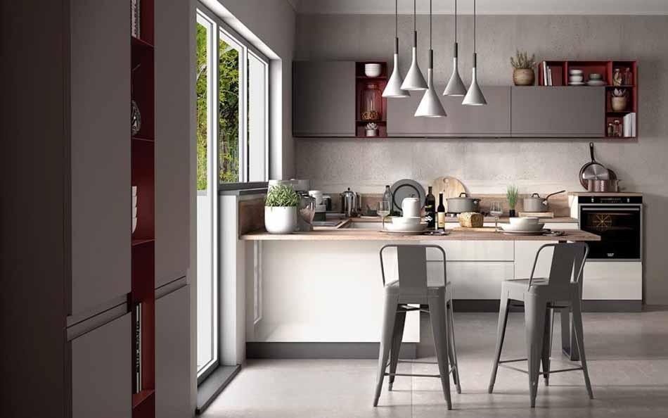 Cucine su misura artigiali 70 – Linea Arianna – Firenze Arredament
