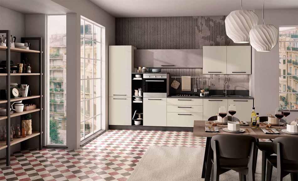 Cucine su misura artigiali 72 – Linea Brooklyn -Toscana Arredamenti