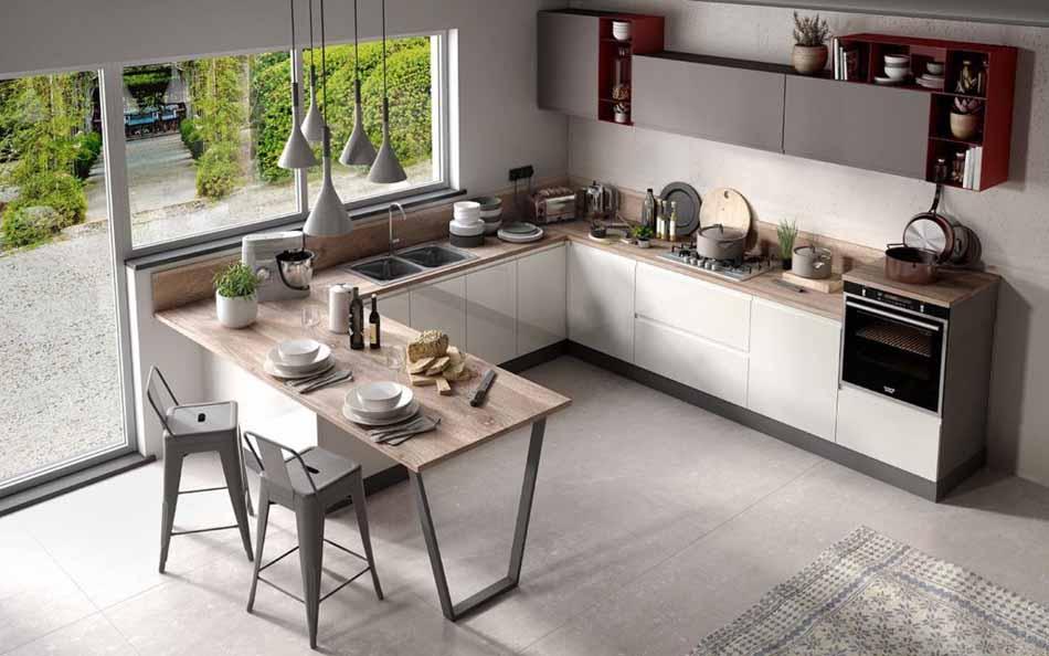 Cucine su misura artigiali 80 – Linea Arianna – Firenze Arredament