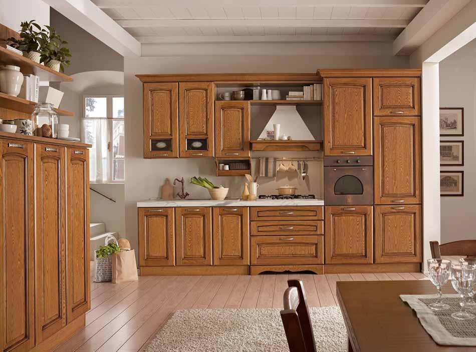 Cucine su misura artigiali 88 – Linea Lucrezia -Toscana Arredamenti