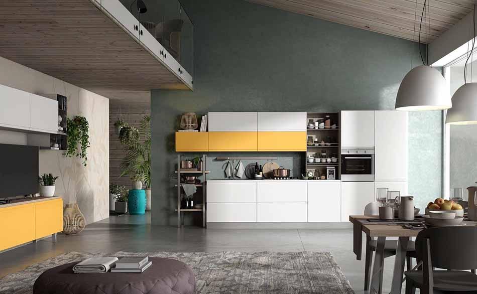 Cucine su misura artigiali 90 – Linea Arianna – Firenze Arredament