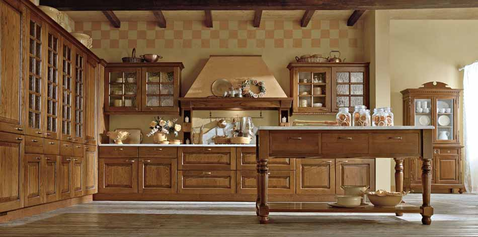 Cucine su misura artigiali 91 – Linea Casale-Toscana Arredamenti