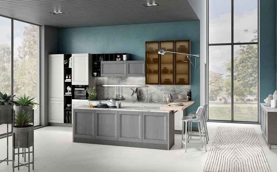 Cucine su misura artigiali 93 – Linea Time -Toscana Arredamenti