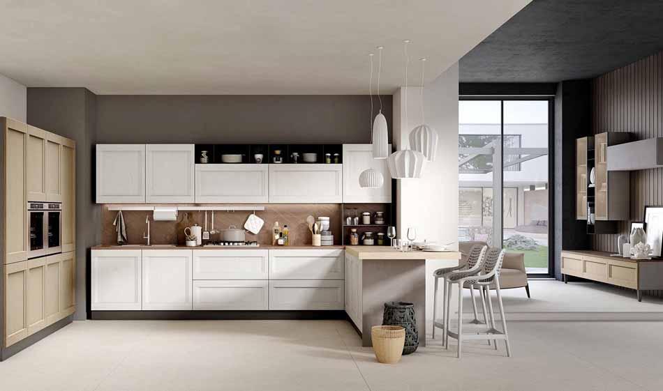 Cucine su misura artigiali 98 – Linea Time -Toscana Arredamenti
