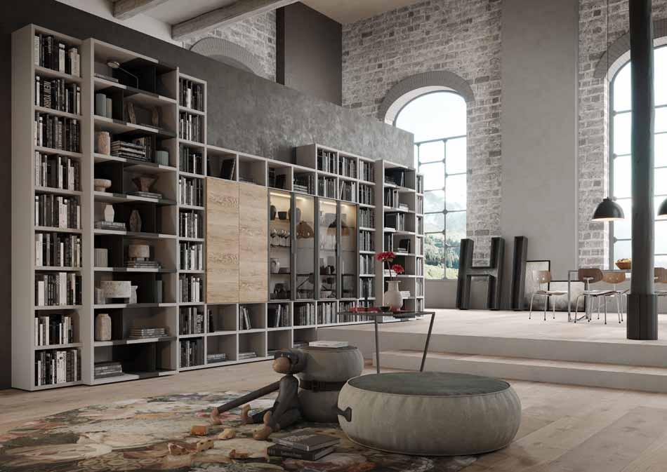 Kico Zona Librerie Moderne – Toscana Arredamenti – 107