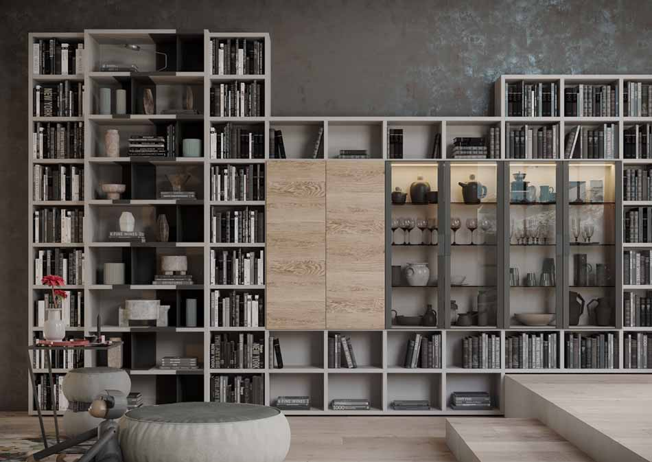 Kico Zona Librerie Moderne – Toscana Arredamenti – 112