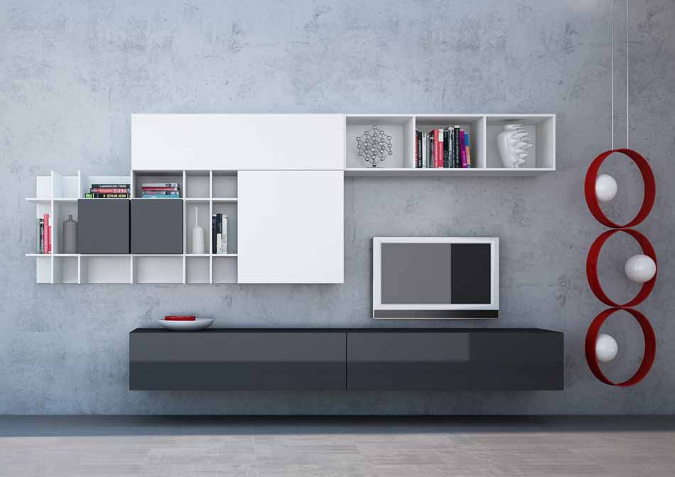 Kico Zona Living Moderna – Toscana Arredamenti – 120