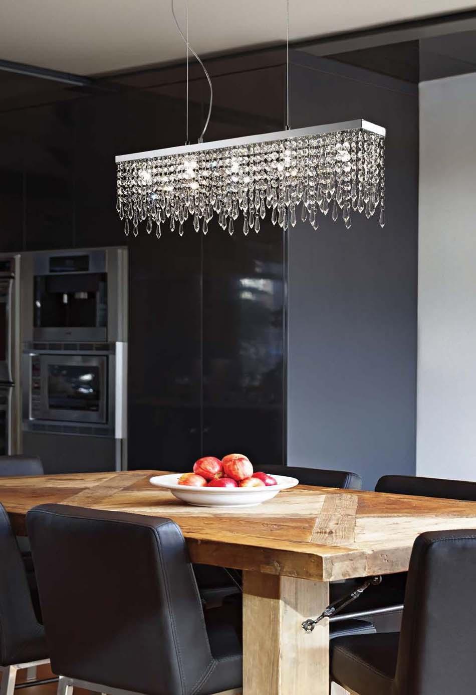 Lampade 21 sospese Ideal Lux Giada Clear – Toscana Arredamenti