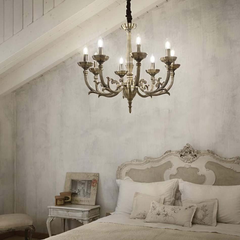 Lampade 27 sospese vintage Ideal Lux lancelot – Toscana Arredamenti