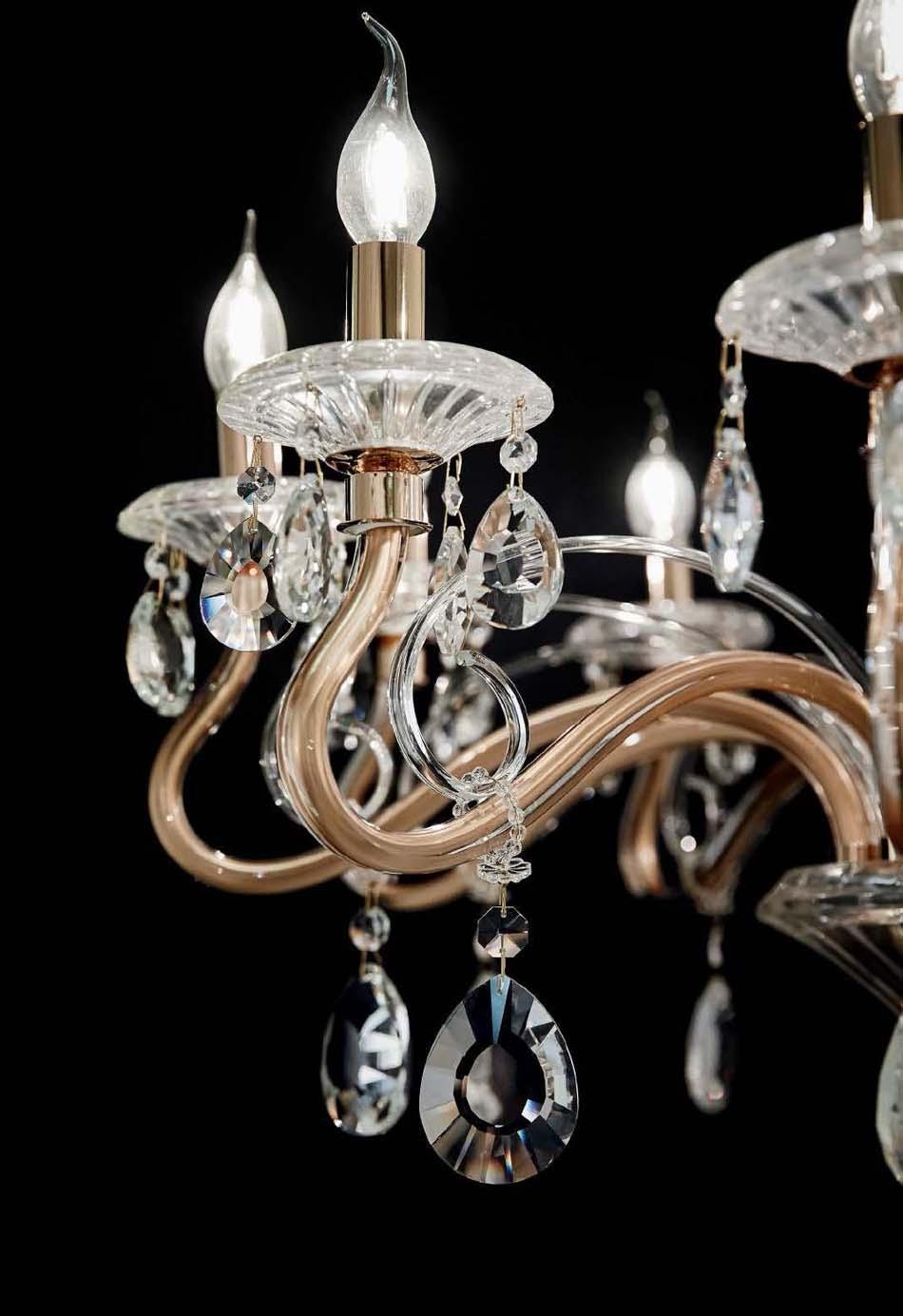 Lampade 32 sospese vintage Ideal Lux Negresco – Toscana Arredamenti