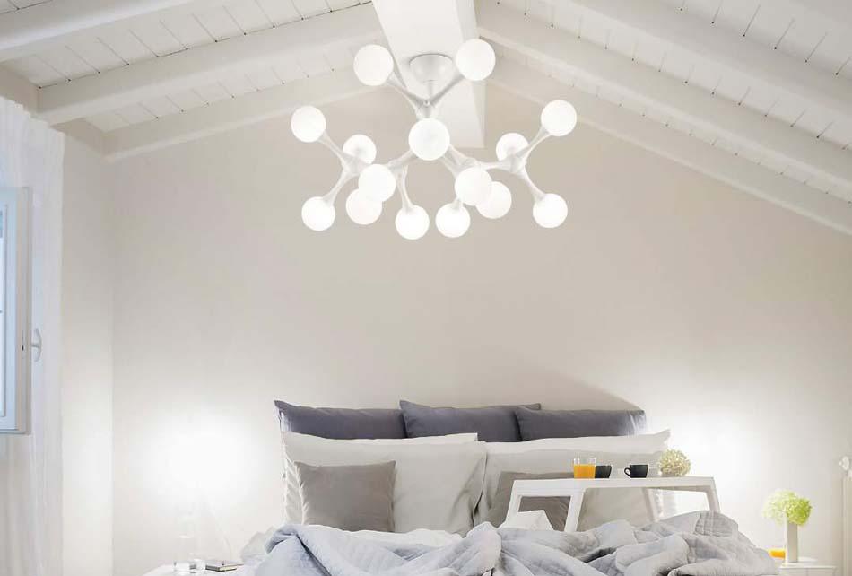 Lampade 33 soffitto parete Ideal Lux Nodino – Toscana Arredamenti