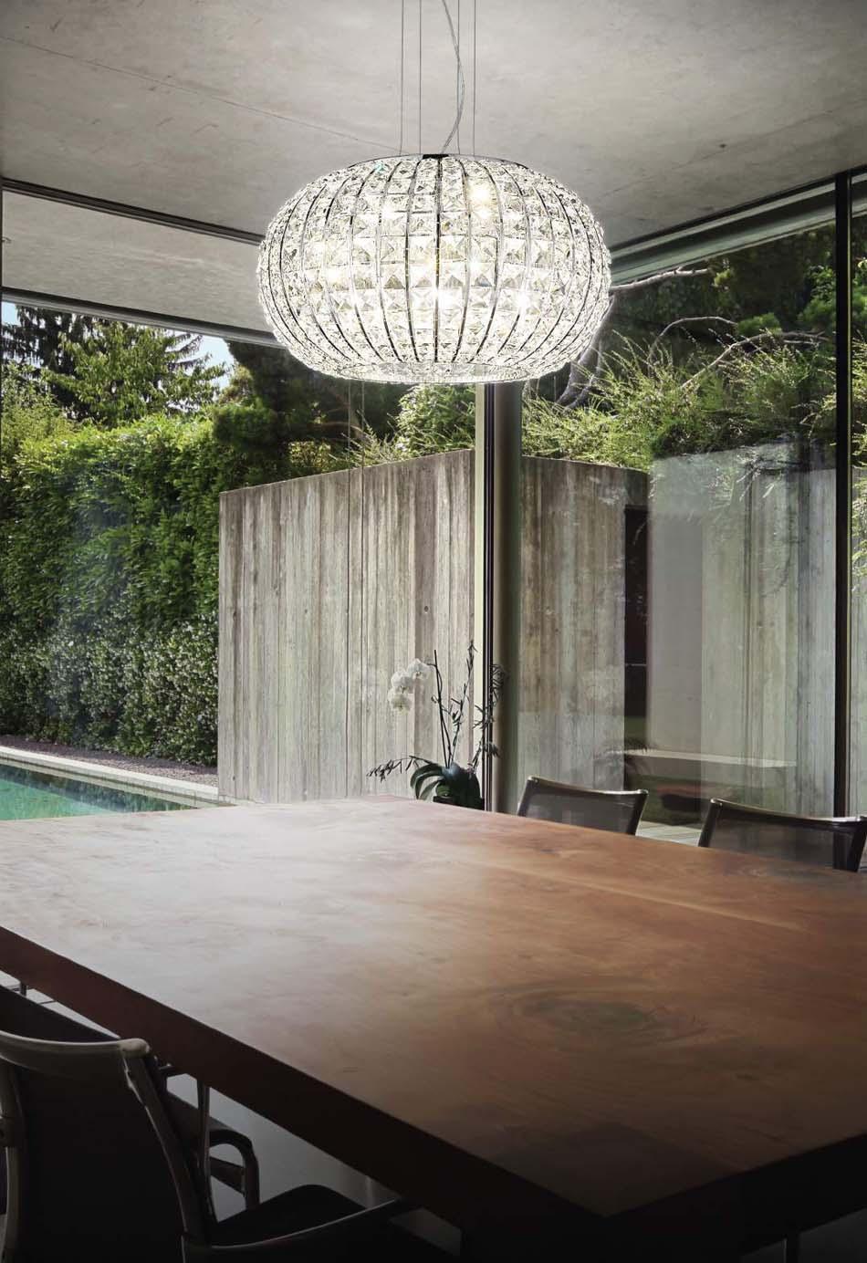 Lampade 35 sospese Ideal Lux Calypso – Toscana Arredamenti